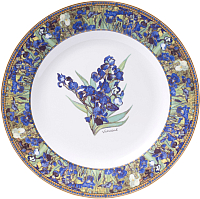 Тарелка столовая глубокая Белбогемия Ван Гог. Ирисы RN10093-Z021 / 86268 -