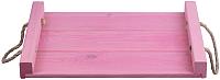 Поднос Белэкспоформ 1869.1 (розовый) -