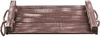 Поднос Белэкспоформ 1869.1 (темно-коричневый) -