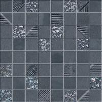 Декоративная плитка Ibero Ceramicas Mosaico Cromat-One Navy (300x300) -