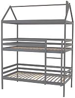 Двухъярусная кровать Можга Р429.1 (серый) -