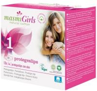 Прокладки ежедневные Masmi Natural Cotton Girls ультратонкие для подростков (12шт) -