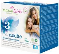 Прокладки гигиенические Masmi Natural Cotton Girls ультратонкие для подростков ночь (10шт) -