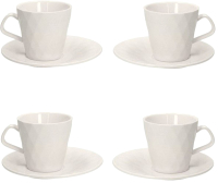 Набор для чая/кофе Tognana Kaleidos/White / KS085130000 -