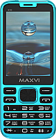 Мобильный телефон Maxvi X10 (голубой) -