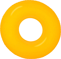 Круг для плавания Intex Neon Frost / 59262NP (оранжевый) -