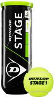 Набор теннисных мячей DUNLOP Stage 1 / 622DN601338 -