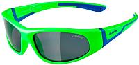 Очки солнцезащитные Alpina Sports Flexxy Junior / A84674-71 (неоновый зеленый/синий) -