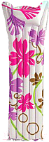 Надувной матрас для плавания Intex 59720NP (розовые цветы) -