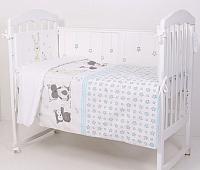 Комплект постельный в кроватку Топотушки Друзья / 342/1 (голубой) -