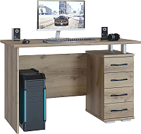 Письменный стол Сокол-Мебель КСТ-106.1 (дуб делано) -