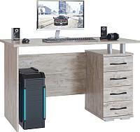Письменный стол Сокол-Мебель КСТ-106.1 (дуб юкон) -