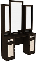 Туалетный столик с зеркалом Уют Сервис Гарун Тр30 (венге) -