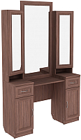 Туалетный столик с зеркалом Уют Сервис Гарун Тр30 (ясень шимо) -