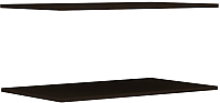 Комплект полок для шкафа Уют Сервис Гарун П103 (2шт, венге) -