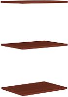 Комплект полок для шкафа Уют Сервис Гарун П107 (3шт, итальянский орех) -