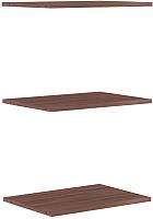 Комплект полок для шкафа Уют Сервис Гарун П107 (3шт, ясень шимо) -