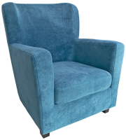 Кресло мягкое Lama мебель Фламинго (Ultra Atlantic) -