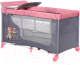 Кровать-манеж Lorelli Moonlight 2 Pink Travelling (10080412046) -