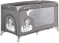 Кровать-манеж Lorelli Moonlight 1 Grey Luxe (10080392068) -