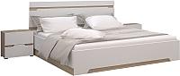 Комплект мебели для спальни Горизонт Мебель Анталия (сонома/белый софт) -