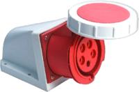 Розетка кабельная КС YHT 1152 3Р+РЕ+N 16А 380В IP67 / 74501 -