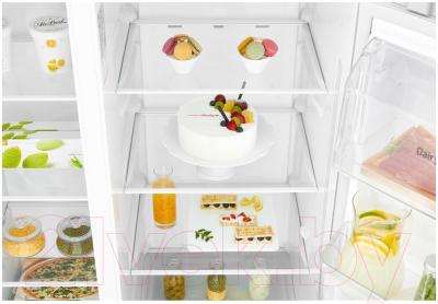 Холодильник с морозильником LG DoorCooling+ GC-B247SVDC