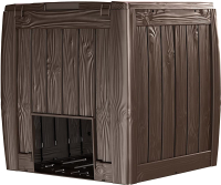Компостер Keter Deco Composter W/Base 340л / 231600 (коричневый) -