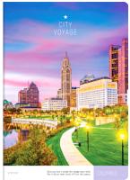 Тетрадь ArtSpace Путешествия. City Voyage / Т96А4к_21104 (96л, клетка) -