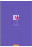 Тетрадь ArtSpace Моноколор. Office Style / Т96А4к_13759 (96л, клетка) -