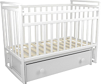 Детская кроватка ФА-Мебель Дарья 1 (белый) -