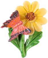 Магнит декоративный Darvish Стрекоза на листике / DV-692 -