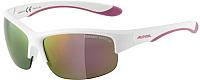 Очки солнцезащитные Alpina Sports Flexxy Youth HR / A86523-10 (белый матовый) -