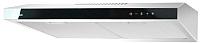 Вытяжка плоская Akpo Glass Touch P-3060 WK-9 (белый/черное стекло) -
