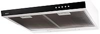 Вытяжка плоская Akpo Glass P-3060 WK-7 (белый/черное стекло) -