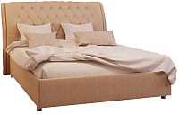 Двуспальная кровать Аметиста Афина (Velvet Lux 22) -