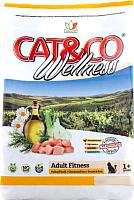 Корм для кошек Adragna Cat&Co Wellness Adult Fitness Chicken&Peas (10кг) -