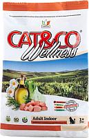 Корм для кошек Adragna Cat&Co Wellness Adult Indoor Lamb&Potatoes (400г) -