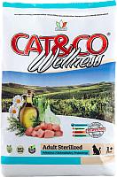 Корм для кошек Adragna Cat&Co Wellness Adult Sterilized Chicken&Barley (10кг) -