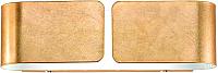 Бра Ideal Lux Clip AP2 Mini Oro / 91129 -
