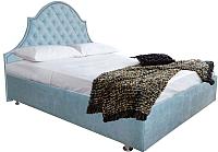 Двуспальная кровать Аметиста Ницца (Velvet Lux 84) -