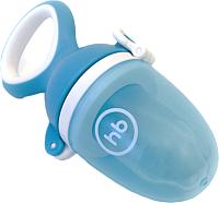 Ниблер Happy Baby С силиконовой насадкой для пюре и каш 15035 (голубой) -