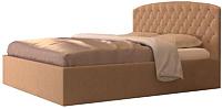 Двуспальная кровать Аметиста Греция (Velvet Lux 22) -