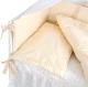 Комплект в кроватку Martoo Comfy 4 (белый/бежевый) -