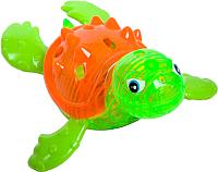 Игрушка для ванной Bondibon Играем в воде. Черепаха для ныряния со светом / ВВ2438 -