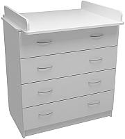 Комод ФА-Мебель Маргаритка 4 (белый) -