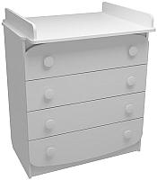 Комод ФА-Мебель Улыбка (белый) -