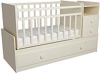Детская кровать-трансформер ФА-Мебель Алеся (слоновая кость) -