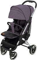 Детская прогулочная коляска Yoyaplus Pro Хромированная рама (Purple) -