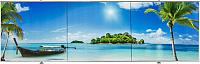 Экран для ванны Comfort Alumin Пляж 3D 150x50 -